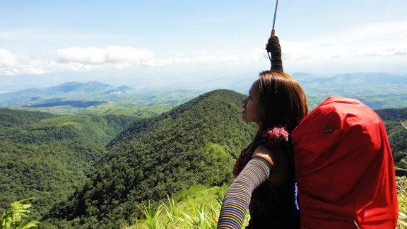 Jojo during Kamras 6 at Mt. Kalatungan - Mt. Wiji