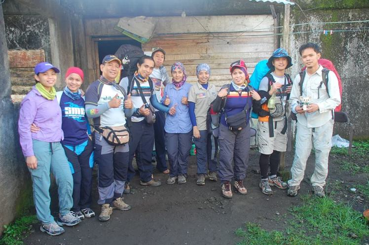 Team Payong jump off