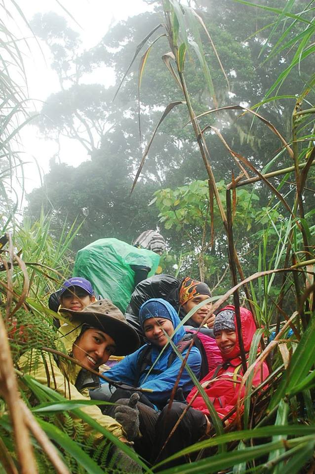 Mt. Piagayungan with team Payong on Break