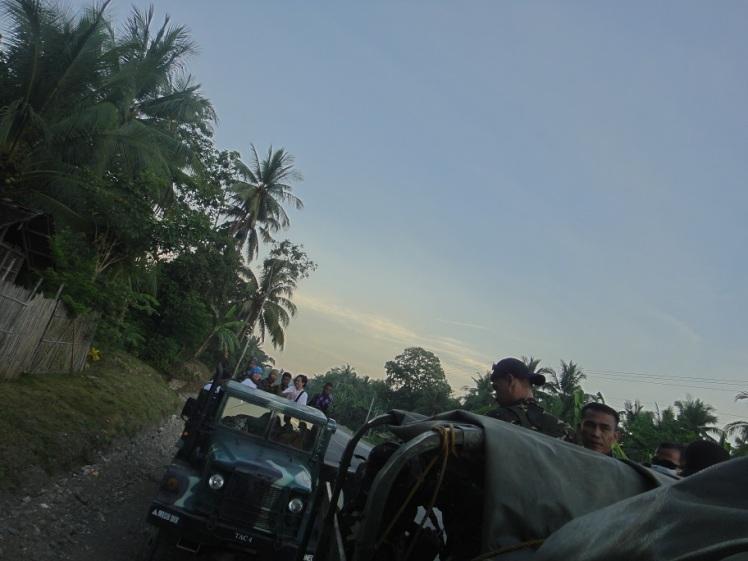 Transportation to Limunsudan Falls