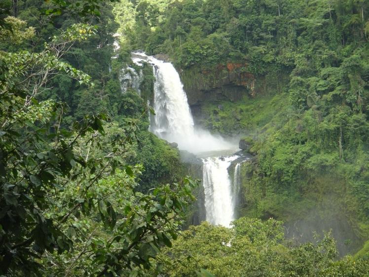 Limunsudan Falls at First View deck
