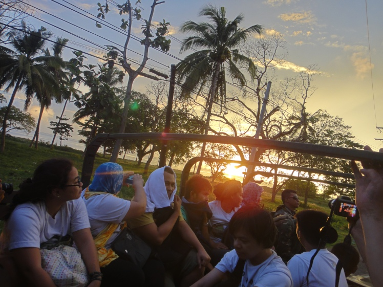On the way back to Iligan City
