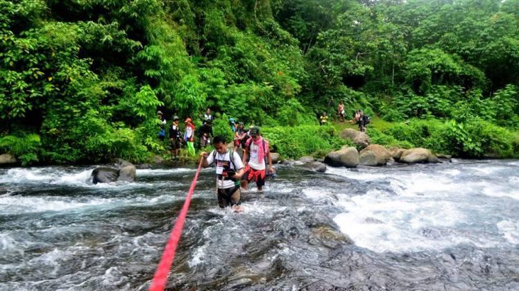 Piduan Trek river