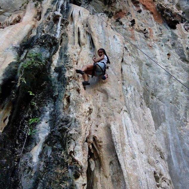 Rock Climbing Tonsai Thailand @dasocialcimber